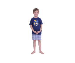 Normann otroška pižama modra